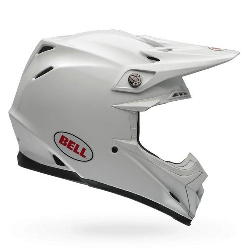 Bell Moto-9 Flex Carbon Flex Solid White