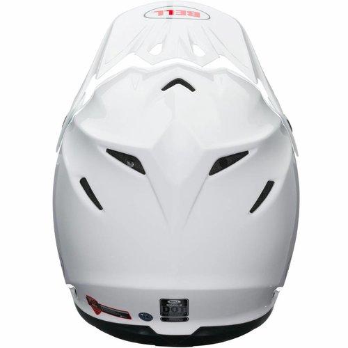 Bell Moto-9 Flex Carbon Crosshelm Solid White