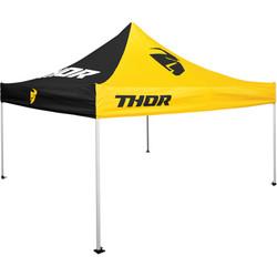 Tent Black/Yellow 3 x 3 Meter