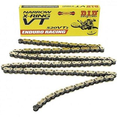 D.I.D 520 VT2 Narrow Enduro Racing X-Ring Kette