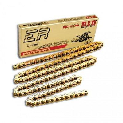 D.I.D 520 ERT2 Motorcross Ketting 118 Schakels - Goud