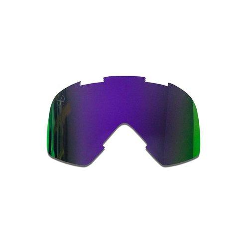 SMF Mariener Moto Goggle Vervangings Lens Indigo