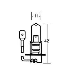 H3 Bulb 12V 55W, PK 22S