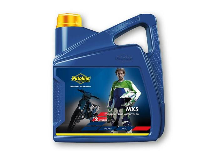 Putoline MX 5 2-Takt Motorolie 4L