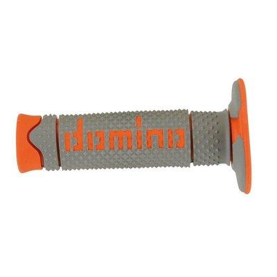 Domino Full Grip Griffsatz Orange/Grau