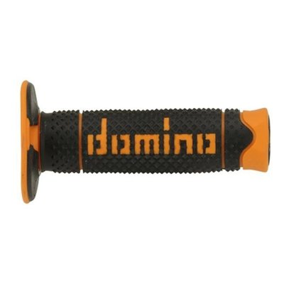 Domino Full Grip Handles Black/Orange