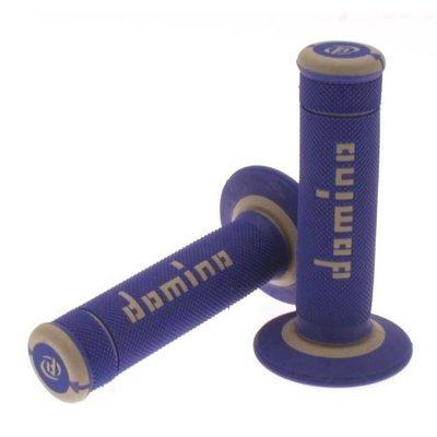 Domino Off-Road X-treme Grip Handvatten Grijs/Blauw