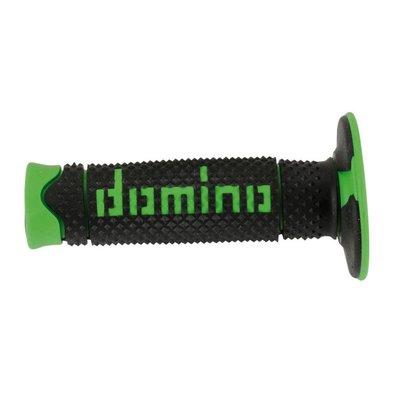 Domino Off-Road X-treme Grip Handvatten Zwart/Groen