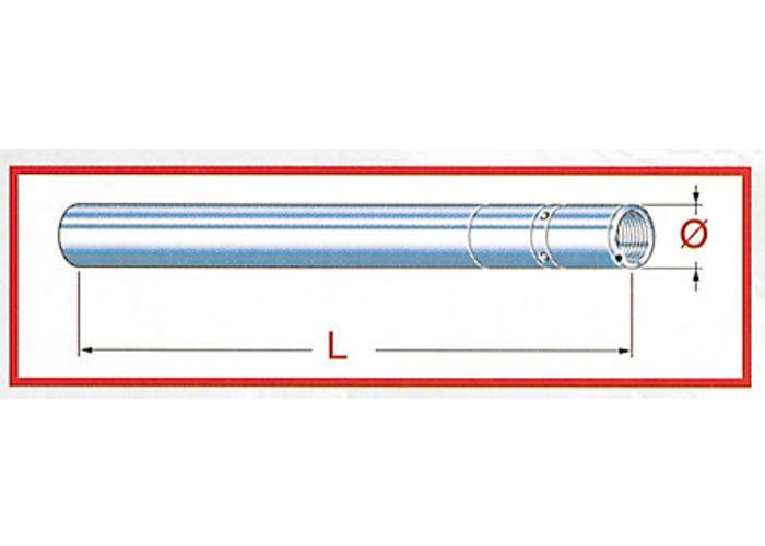 Tarozzi Vork tube Upside Down Yamaha TDM 850
