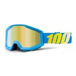 Goggle Strata Solid Cyan Anti-Fog