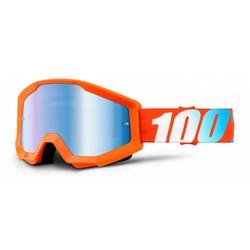 Crossbrille The Strata Orange - Blau Verspiegelt