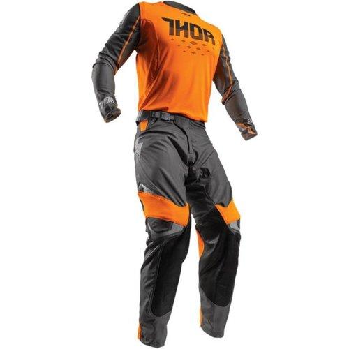 Thor Prime Fit™ ROHL S7 Motorcross Pants Orange /Gray