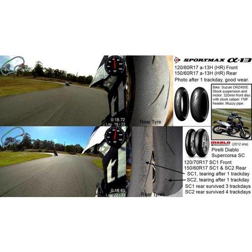 Dunlop Sportmax Alpha 13 150/70 R18 TL 70 W