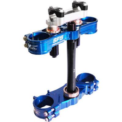 Neken SFS Air Triple Clamp Blue Yamaha YZF 250/450