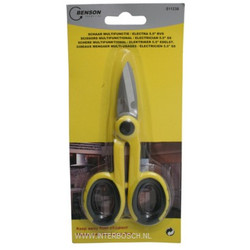 "Scissors Multifunctional / Electrician 5.5"" Stainless Steel"