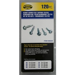 Screw Selection Self-Tapping 120 Piece