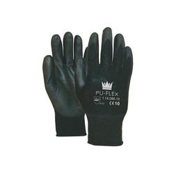 PU FLEX Nylon werkhandschoenen - Zwart Maat 10 (XL)