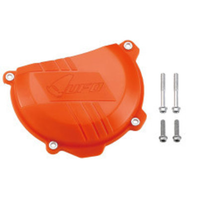 UFO Kupplungsdeckel Schutz - Hartplastik-Orange EXC-F250/350 - SX-F250/350