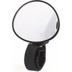 Supermoto Mini Spiegel Schwarz (mit Schutzfolie)