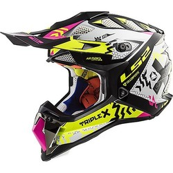 MX470 Subverter Triplex - Gloss Black Pink Fluor Yellow