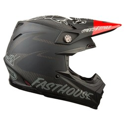Moto-9 Flex Fasthouse Black/Red *Limited Edition*