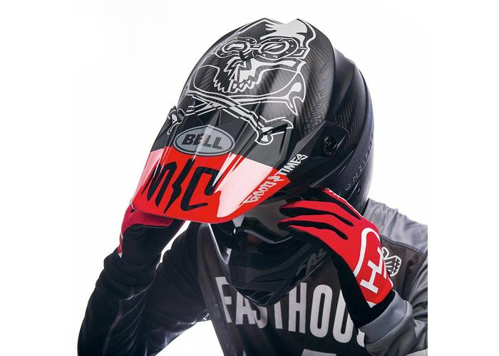 Bell Moto-9 Flex Fasthouse Black/Red *Limited Edition*