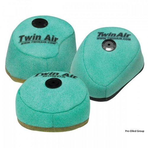 Twin Air Pre-Oiled Filter KAWASAKI KXF250/450 '06-15 Anti Backfire for Powerflow Kit