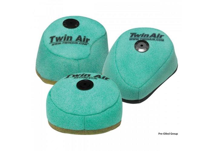 Twin Air Pre-Oiled Filter KAWASAKI KXF250/450 '06-15 Anti Backfire for Powerflow Kit