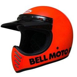 Moto-3 Classic Flo Orange