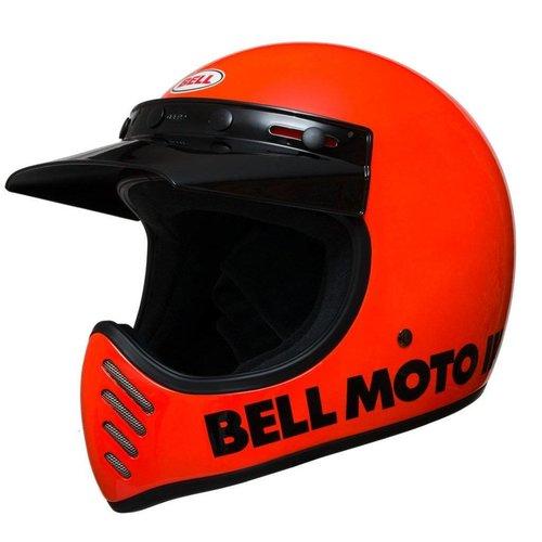 Bell Moto-3 Classic Flo Orange