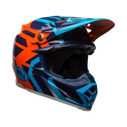 MOTO-9 DISCTRICT BLUE/ORANGE