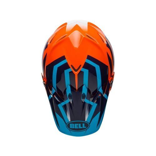 Bell MOTO-9 DISCTRICT BLUE/ORANGE