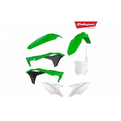 Polisport Kawasaki KX250F 17-18 OEM Style Plastic Kit