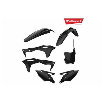 Polisport Kawasaki KX250F 17-18 Black Plastic Kit