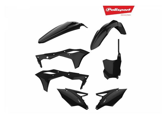 Polisport Kawasaki KX250F 17-18 Zwarte  Plastic Kit