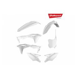 Kawasaki KX250F 17-18 Witte Plastic Kit