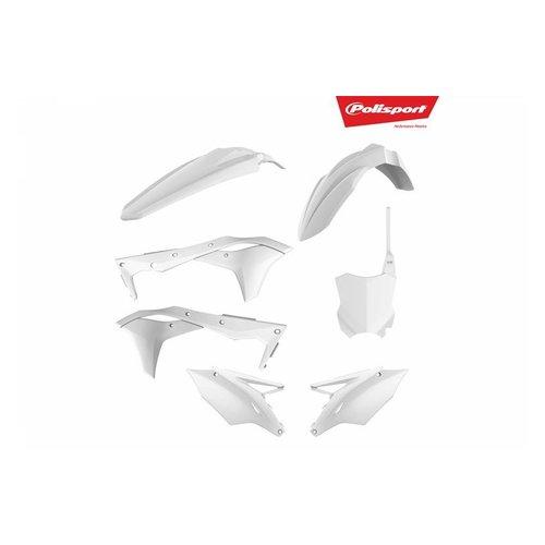 Polisport Kawasaki KX250F 17-18 Witte Plastic Kit