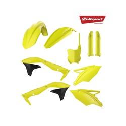 Kawasaki KX450F 16-18 Fluor Yellow Plastic Kit