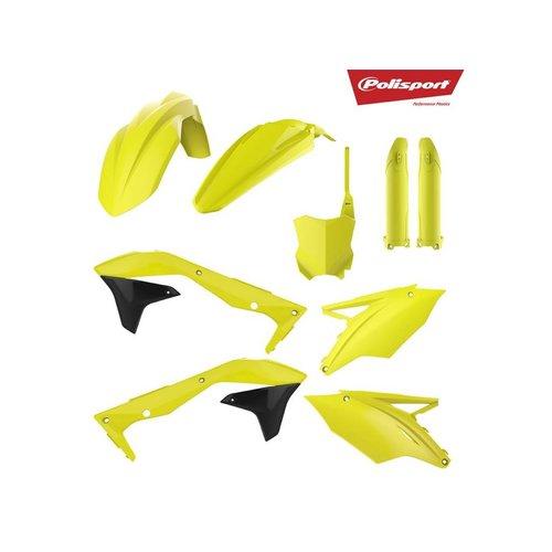 Polisport Kawasaki KX450F 16-18 Fluor Yellow Plastic Kit