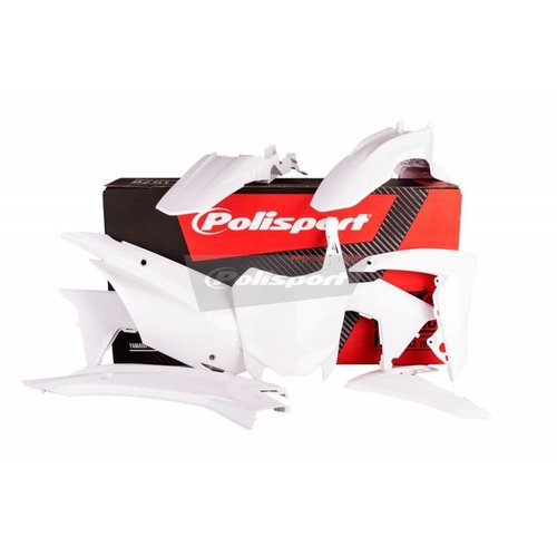 Polisport Honda CRF110F 13-17 White Plastic Kit