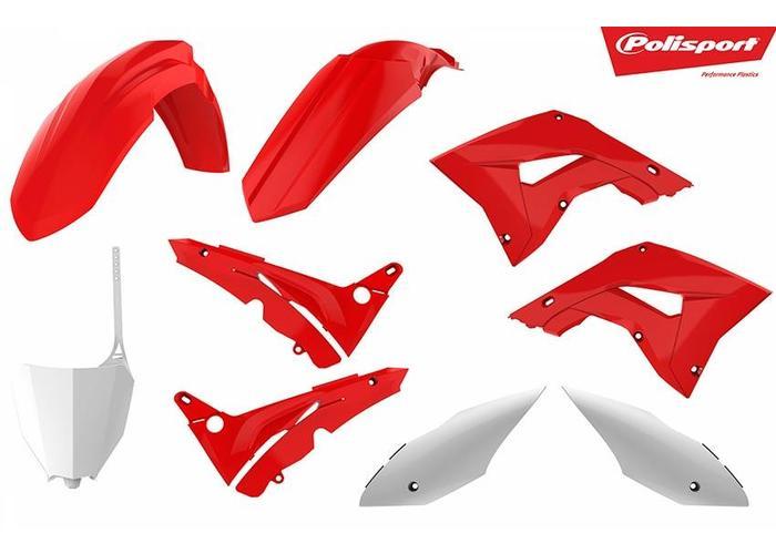 Polisport Honda CR125R 02-07 Restyle OEM Plastic Kit
