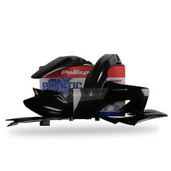 Honda CRF250R 08-09 Black Plastic Kit