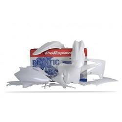 Honda CRF250R 10 witte Plastic Kit