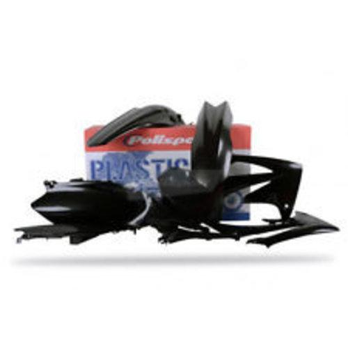 Polisport Honda CRF250R 10 zwarte Plastic Kit