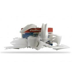 Honda CRF250R 11-13 White Plastic Kit