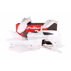Honda CRF250R 14-17 White Plastic Kit