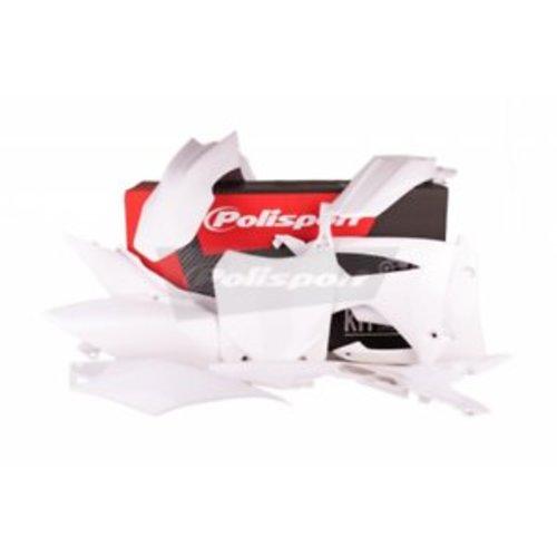 Polisport Honda CRF250R 14-17 witte Plastic Kit