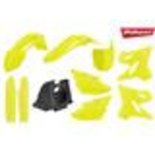 Polisport Honda CRF250R 18 fluor gele Plastic Kit
