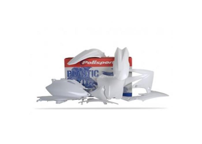 Polisport Honda CRF450R 09-10 OEM witte Plastic Kit