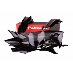 Honda CRF450R 13-16 Zwarte Plastic Kit
